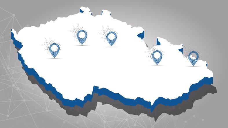 Najdeš nás v různých lokalitách České republiky
