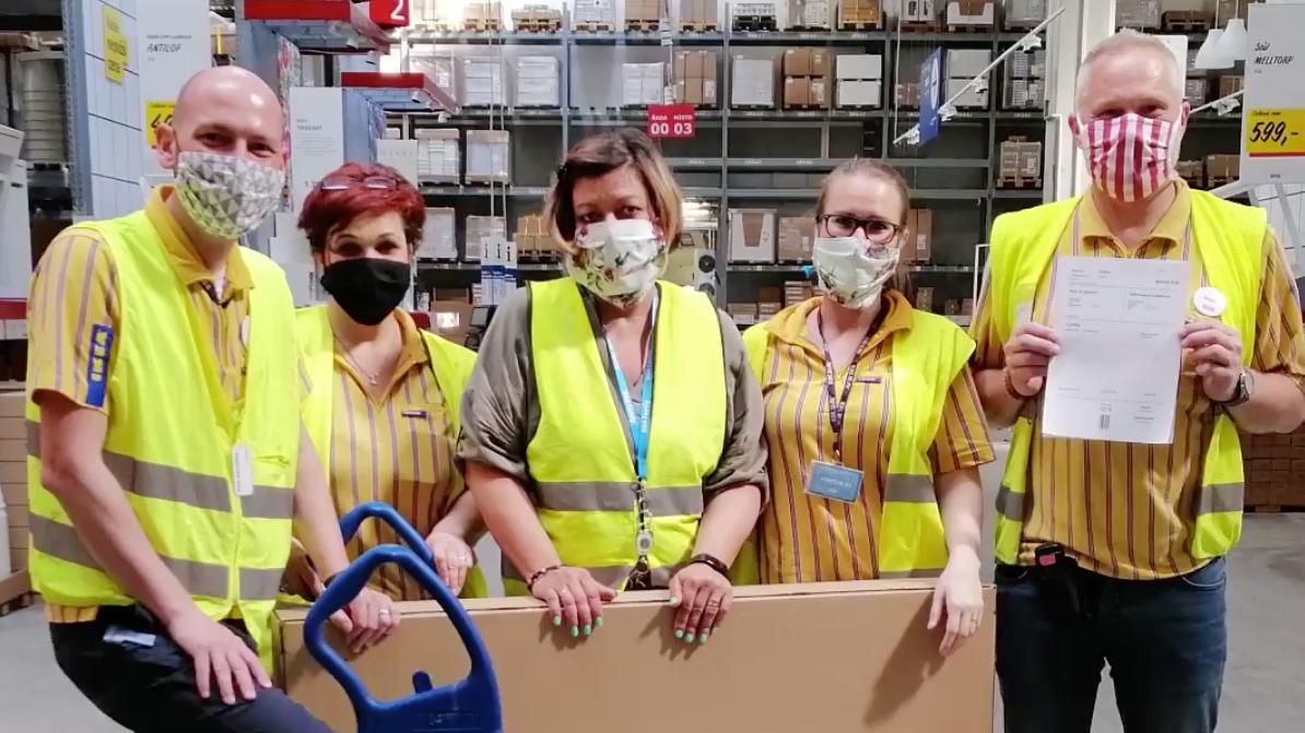 Zaměstnanci v logistice