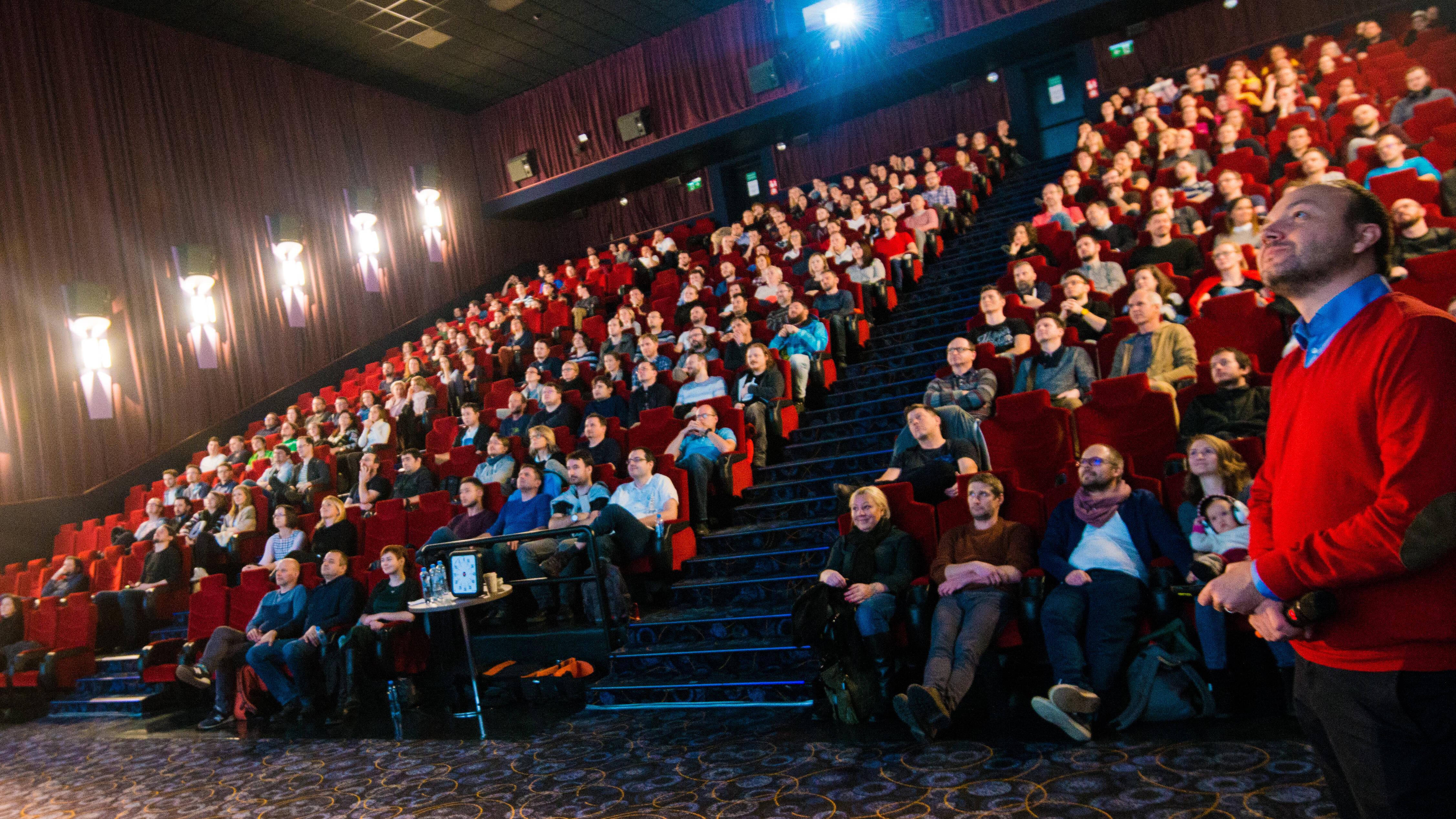 Představení strategie v kině (2019)