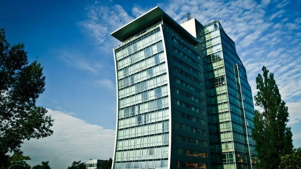 Hlavní kancelář firmy v Holešovicích
