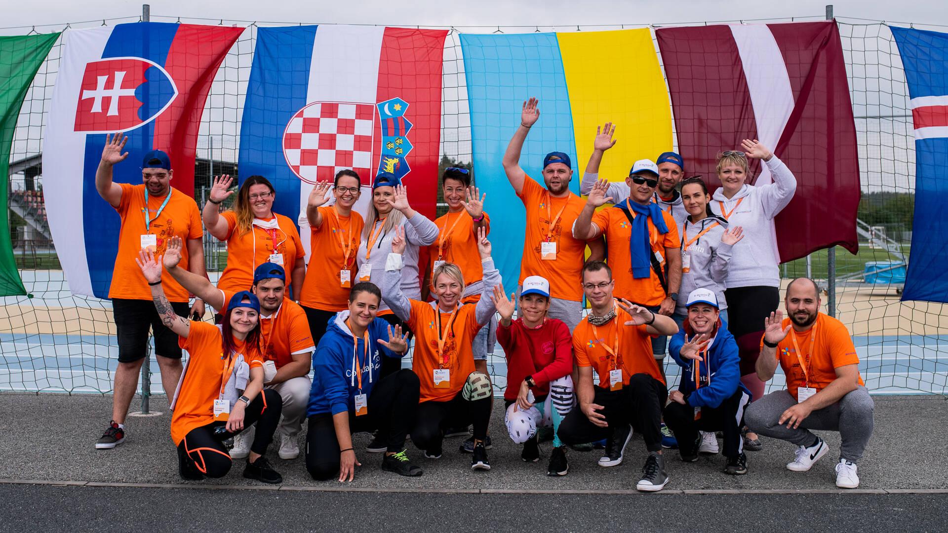 Tým Comdata jako dobrovolníci na akci Emil Open