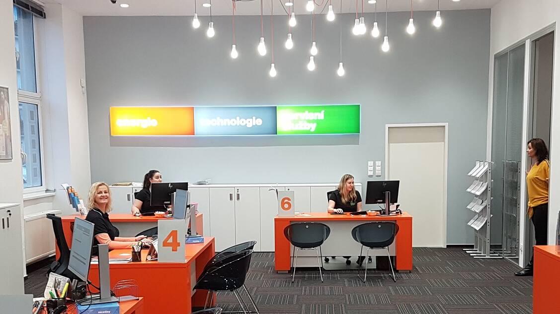 Pobočky - prostředí našich zákaznických center